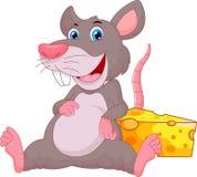 Dessin animé mignon de souris Photos stock