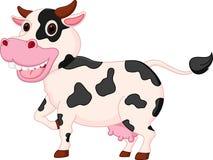 Dessin animé mignon de vache Photo stock