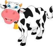 Dessin animé mignon de vache Photographie stock libre de droits