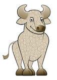 Dessin animé Ox/Bull illustration de vecteur
