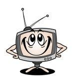 Dessin animé TV Photos stock