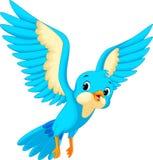 Dessin animé mignon d'oiseau Image libre de droits