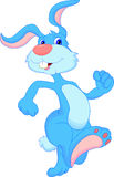 Dessin animé mignon de lapin Image libre de droits