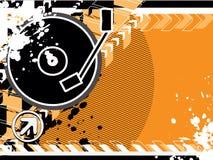Dessin Cd orange Photo libre de droits