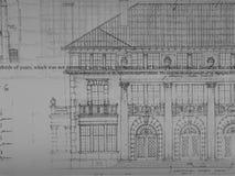 Dessin d'architecture Photo stock