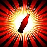 Dessin de bouteille de boissons Images libres de droits