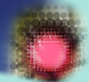 Dessin de cellules Images libres de droits