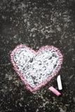 Dessin de coeur Image stock