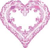 Dessin de conception de forme de coeur Image stock