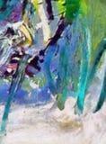 Dessin de main dans l'abstraction d'huile Fond grunge de texture Modèle de conception de cru Papier peint créateur Art mélangé d' illustration libre de droits