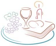 Dessin de sainte communion illustration libre de droits
