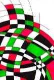 Dessin de stylo de marqueur des courbes illustration de vecteur