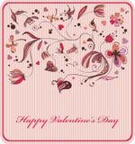 Dessin de Valentine Images libres de droits