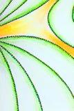 dessin des lignes pointillées incurvées Photographie stock libre de droits