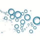 Dessin géométrique abstrait Photo stock