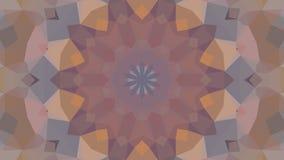 Dessin géométrique, mosaïque d'un kaléidoscope de vecteur illustration de vecteur