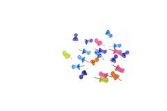 Dessin-goupilles colorées Photos stock