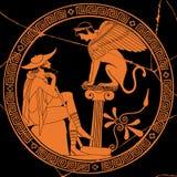 Dessin grec de vecteur illustration de vecteur