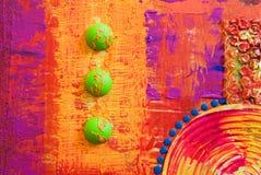 Dessin-modèle abstrait de Colorfull Photos libres de droits