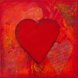 Dessin-modèle de coeur Images stock