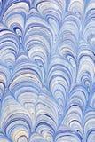 Dessin-modèle de papier marbré Photographie stock libre de droits