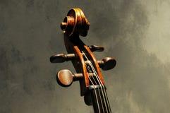 Dessin-modèle de violon d'instrument musical images libres de droits