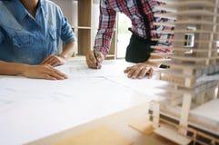 Dessinateur d'intérieurs Corporate Achievement Planning Desi de collègues image libre de droits