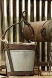 Dessinez-bien le chapelet hydraulique d'outil photographie stock