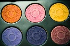 Dessinez un colorant de couleur Images libres de droits