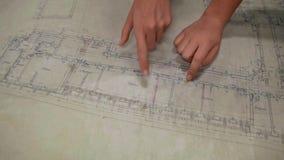 Dessins architecturaux clips vidéos