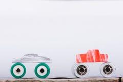 Dessins de batteries Image libre de droits