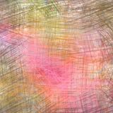 Dessins de crayon colorés Photographie stock
