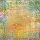 Dessins de crayon colorés Photographie stock libre de droits