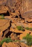 Dessins en pierre indiens antiques Image stock