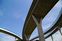 Dessous de routes élevées Photos libres de droits