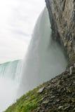 Dessous des automnes en fer à cheval, chutes du Niagara Photo stock