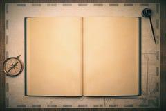 Dessus antique de livre illustration stock