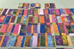 Dessus d'édredon de batik Images stock