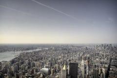 Dessus d'Empire State Building image libre de droits