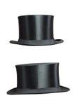 dessus d'isolement par chapeau Image stock