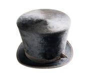 dessus d'isolement par chapeau Photographie stock libre de droits