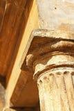 Dessus d'une colonne élégante Photo stock