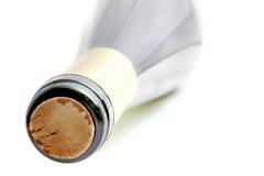 Dessus de bouteille de vin Photo libre de droits