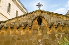 Dessus de l'église de la flagellation Image libre de droits