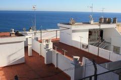 dessus de l'Espagne de toit Photos stock
