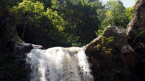 Dessus de la cascade Image libre de droits