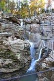 Dessus de la cascade de roche Photographie stock libre de droits
