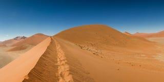 Dessus de la dune 45 chez Sossusvlei Image libre de droits