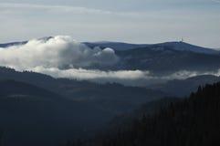 Dessus de la montagne Photo libre de droits