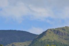 Dessus de la montagne image libre de droits